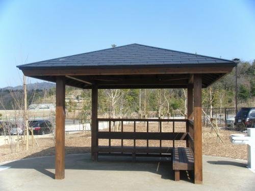 愛知県 万博記念公園 木製東屋