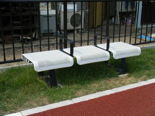 羽島用水整備(岐南地区) ベンチ